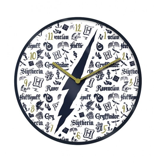 Harry Potter Infographic Wall Clock Gift Boxed