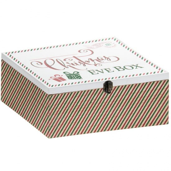 Large Christmas Eve Wooden Box
