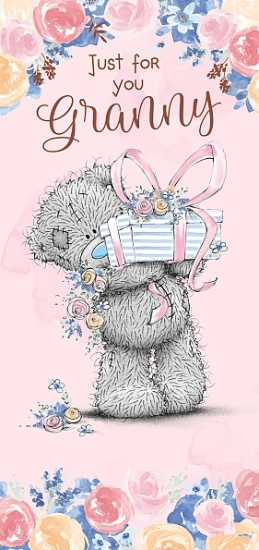 Me to You Tatty Teddy - Just for You Granny Mother's Day Card