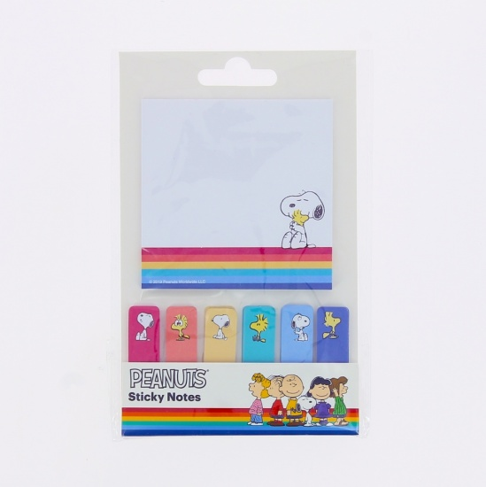 Peanuts Snoopy - Sticky Notes Set Page Markers Sticky Tabs