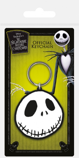 The Nightmare Before Christmas Jack Face Keyring