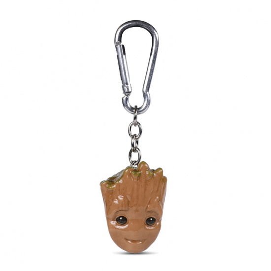 Guardians Of The Galaxy Baby Groot 3D Keychain / Keyring