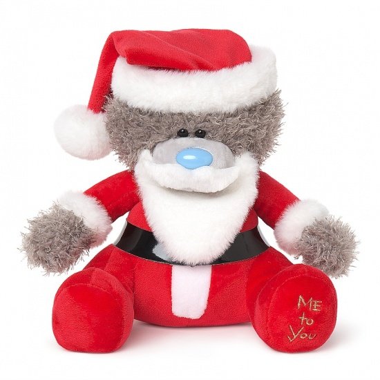 Me To You Christmas - 10'' Santa Onesie Tatty Teddy Bear