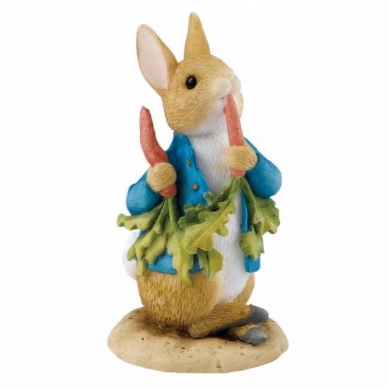 Beatrix Potter Peter Rabbit Peter Ate Some Radishes Mini Figurine / Ornament