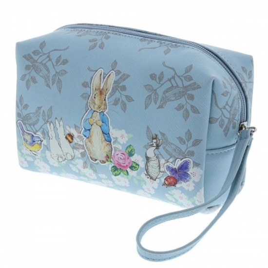 Beatrix Potter Peter Rabbit Blue Wash Bag