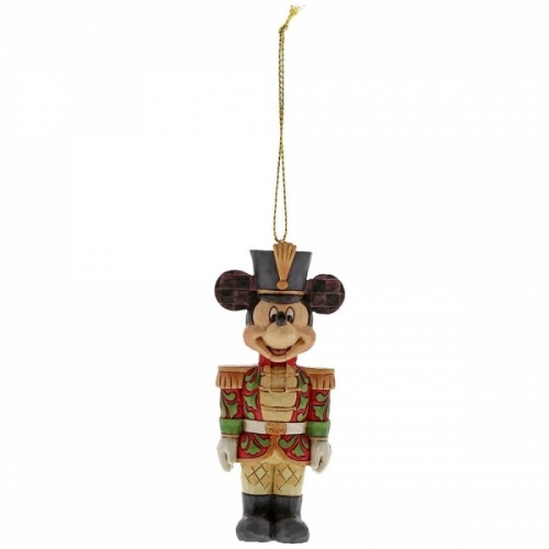 Disney Traditions Christmas - Mickey Mouse Nutcracker Hanging Ornament