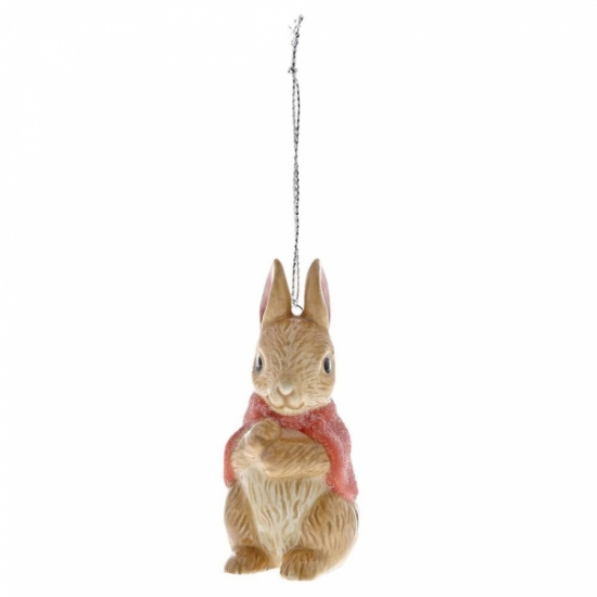 Beatrix Potter Flopsy Bunny Hanging Figurine / Ornament