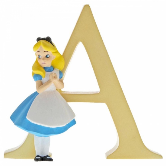 Enchanting Disney Collection Alphabet Letters - A - Alice in Wonderland