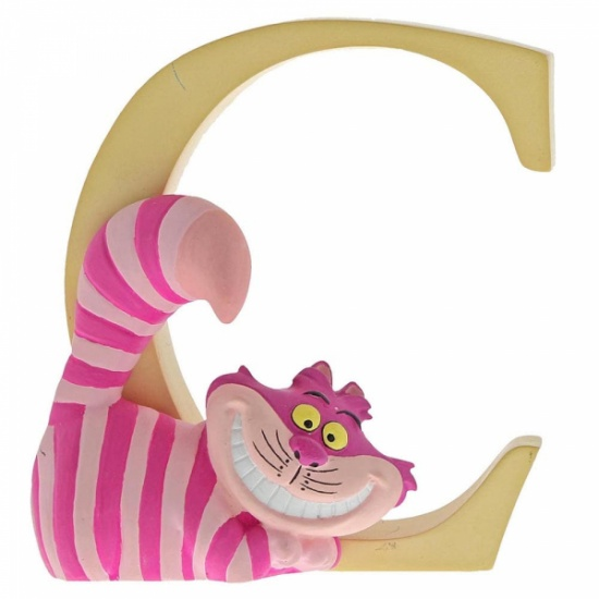 Enchanting Disney Collection Alphabet Letters - C - Cheshire Cat