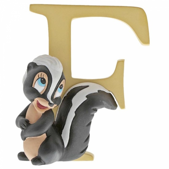 Enchanting Disney Collection Alphabet Letters - F - Flower