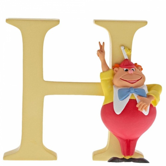 Enchanting Disney Collection Alphabet Letters - H - Tweedle Dee
