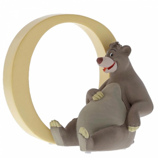 Enchanting Disney Collection Alphabet Letters - O - Baloo