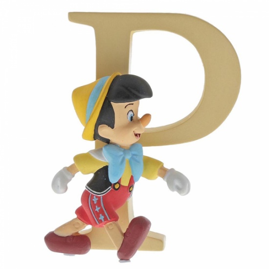 Enchanting Disney Collection Alphabet Letters - P - Pinocchio