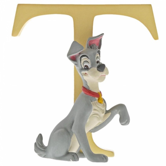 Enchanting Disney Collection Alphabet Letters - T - Tramp