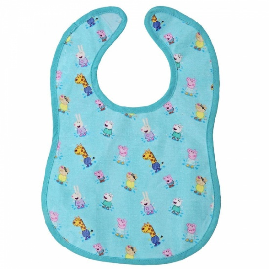 Peppa Pig Collection - Peppa Pig and Friends Print Bib