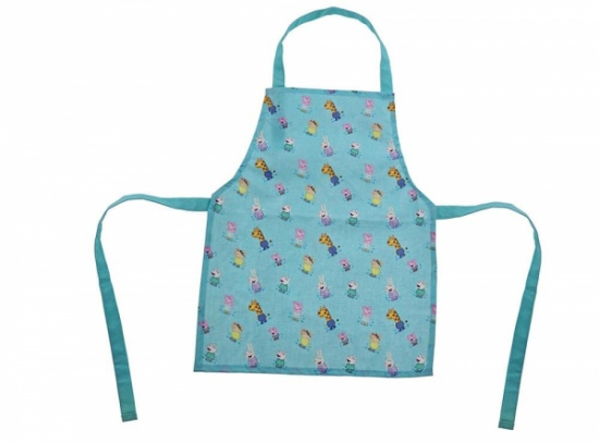 Peppa Pig Collection - Peppa Pig and Friends Print Children's Apron
