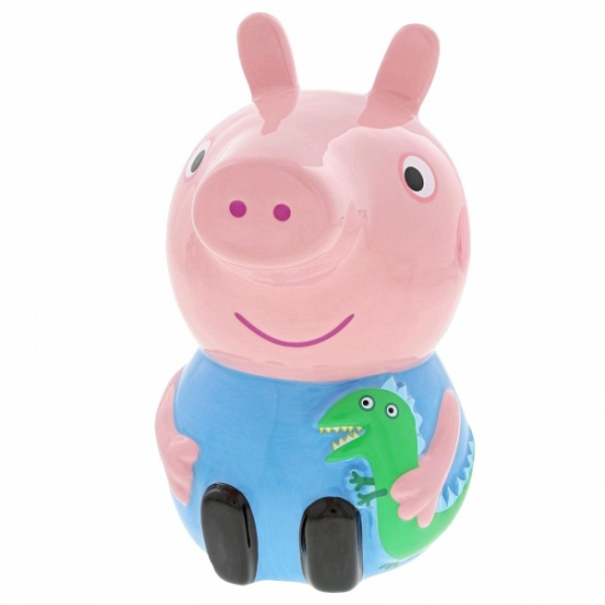 Peppa Pig - George Money Box Savings Piggy Bank Coin Pot