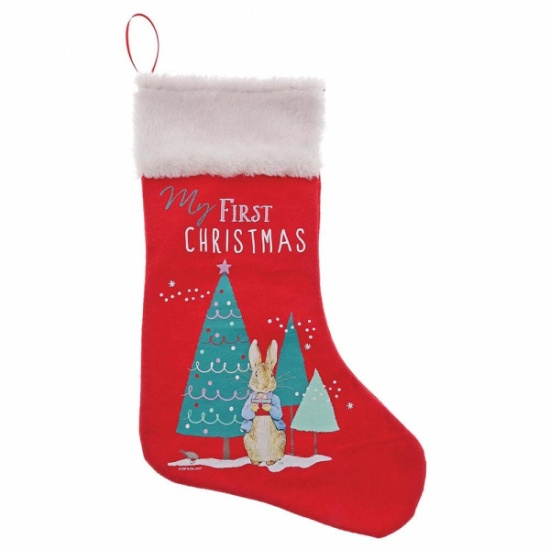 Beatrix Potter Red Peter Rabbit My First Christmas Stocking