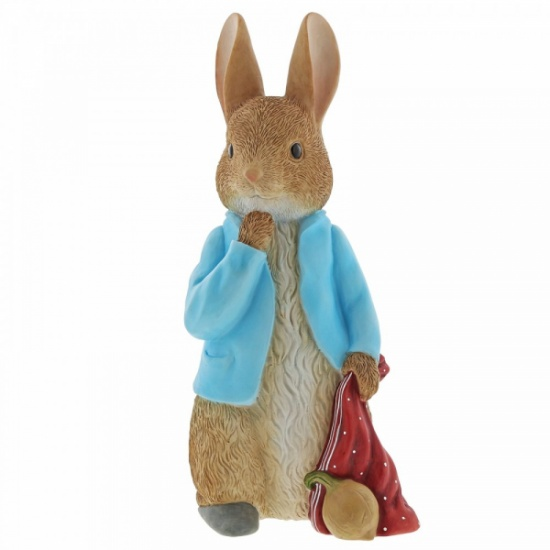Beatrix Potter Peter Rabbit Statement Large Figurine Ornament - Garden statue