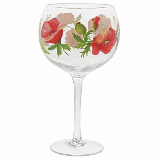 Poppies Copa Gin Glass - Ginology
