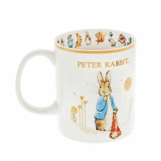 Beatrix Potter Peter Rabbit with Pocket Handkerchief 2021 Special Edition Mug