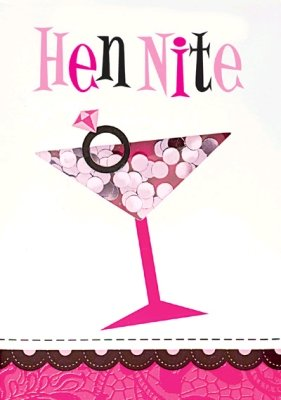 Hen Night Party - Invitations