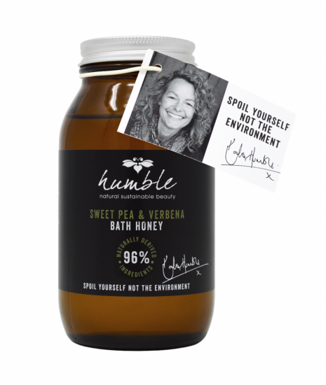 Humble Natural Beauty Sweet Pea & Verbena Bath Honey 275ml Kate Humble