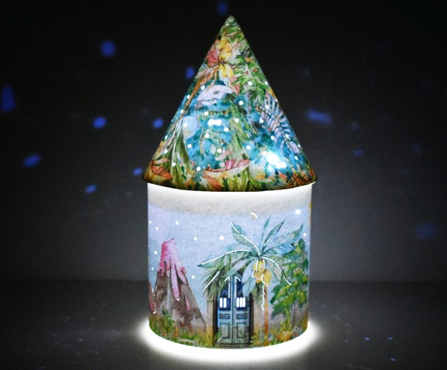 Fairy House Dinosaur World Led Light Up Decoration
