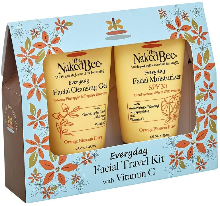 Naked Bee Facial Travel Kit with Vitamin C - Toadstool