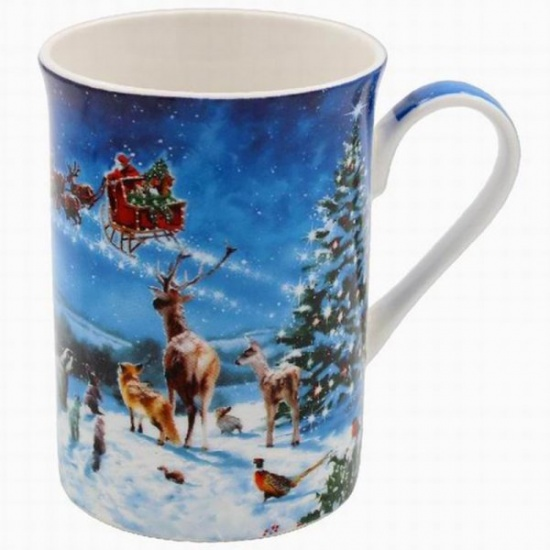Magic of Christmas Fine China Mug - Gift Boxed