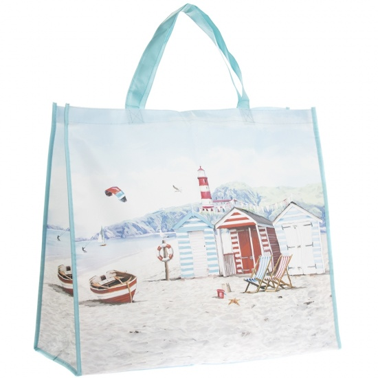 Sandy Bay Seaside Scene Beach Bag