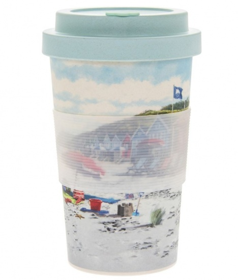 Sandy Bay Reusable Bamboo eco-friendly Travel Mug