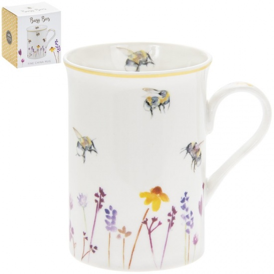 Busy Bees Fine China mug - Gift Boxed