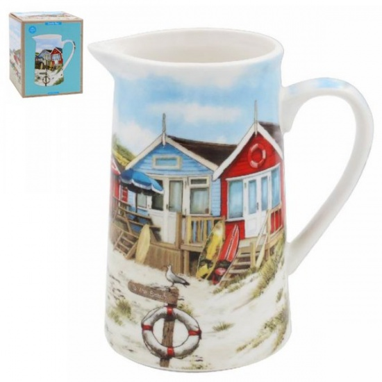 Sandy Bay Fine China Milk Jug - Seaside Beach Coastal Theme