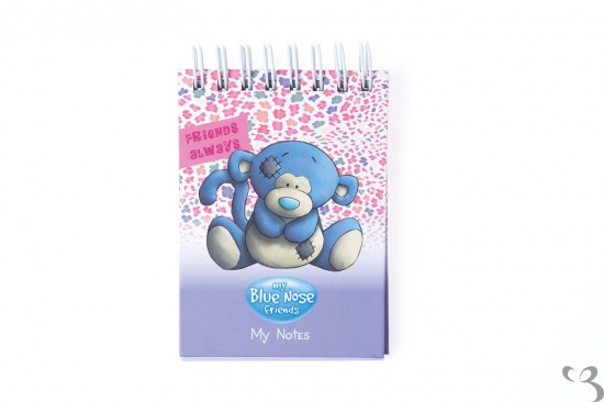 Me to You - My Blue Nose Friends A7 spiral notebook - Coco the Monkey