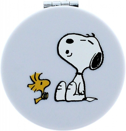 Peanuts Snoopy - Compact Mirror | Folding | Magnified | Double Sided | Classic Collection