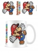 Paper Mario Sticker Coffee Mug Tea Cup - Gift Boxed Super Mario Nintendo