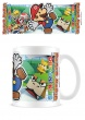 Paper Mario Scenery Cut Out Coffee Mug Tea Cup - Gift Boxed Super Mario Nintendo