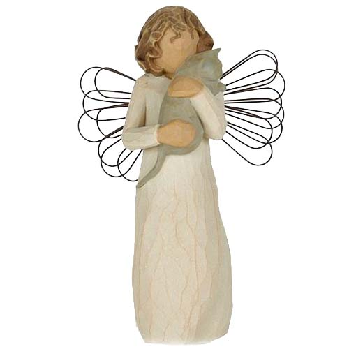 Willow Tree - With affection Angel Figurine  - Girl with Cat